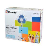 Msonic MFN5145W Ventilátor stojanový, bílo-modrý