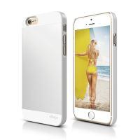 ELAGO S6 Outfit, tenký plastový obal pro iPhone 6, bílo-stříbrný