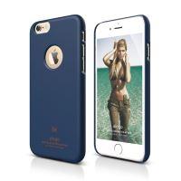 ELAGO S6 Slimfit, tenký plastový obal pro iPhone 6, tmavě modrý