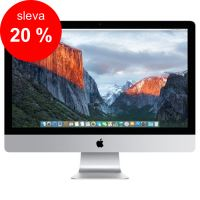 "APPLE iMac 27"" Retina 5K quad-core i5 3.3GHz/8GB/2TB Fusion Drive/AMD Radeon R9 M395 2GB/ OS X - Magic Keyboard CZ"