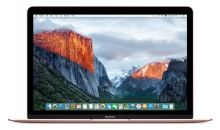 "APPLE MacBook 12"" růžově zlatý 1.1GHz dual-core Intel Core M3/8GB/HD515/256GB flash, CZ klávesnice"