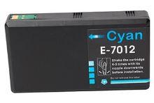 PRINTWELL T7012 XXL Cyan C13T70124010 kompatibilní inkoustová kazeta, barva náplně azurová, 3400 stran