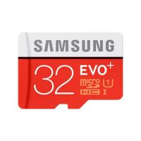 Samsung Micro SDHC karta 32GB EVO Plus + SD adaptér