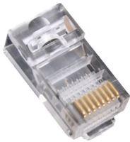EuroLan konektor UTP RJ45, Cat.5e, 8p8c, drát, pozlacený