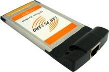 4World síťová karta, PCMCIA, 10/100Mbps
