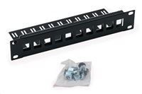"10"" modul.patch panel pro max. 10ks keystonů"