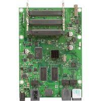 MikroTik RouterBOARD RB433UL, 400MHz Atheros CPU, 64MB RAM, 3x LAN, 3x miniPCI, 1x USB, RouterOS L4