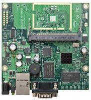 MikroTik RouterBOARD RB411AH, 1x LAN, 1x miniPCI, L4 licence