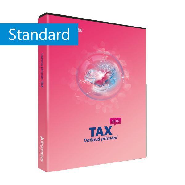 TAX 2017 Standard - základní licence pro jeden počítač