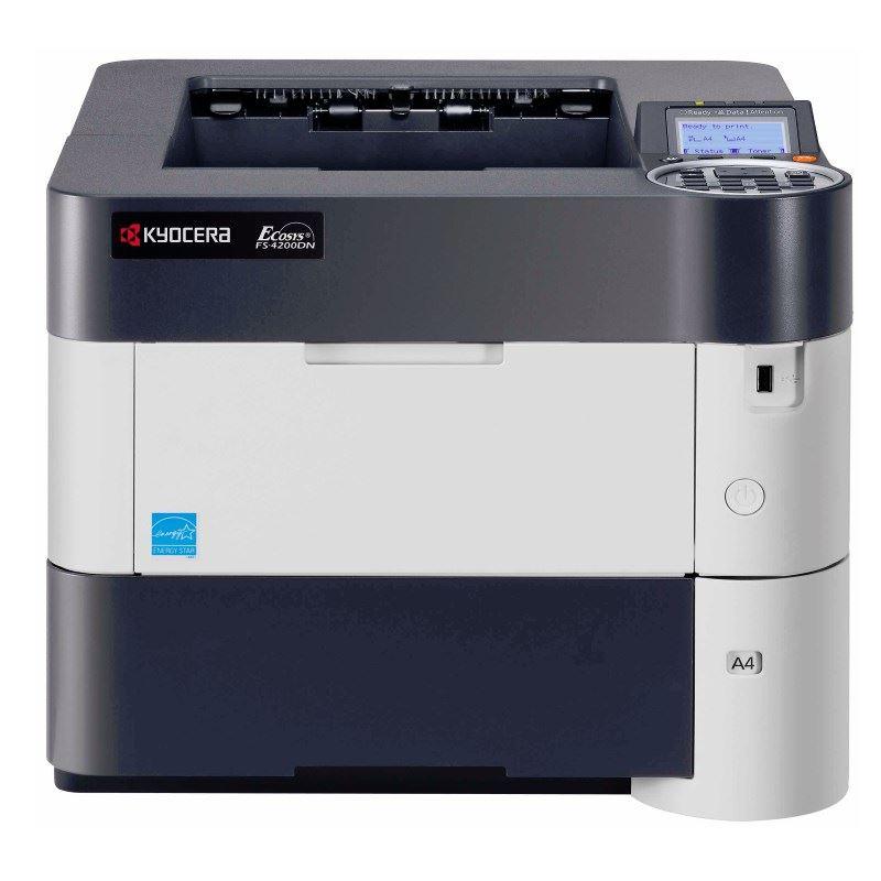 KYOCERA FS-4200DN/ A4/ 1200x1200/ Duplex/ Černobílá/ LCD/ USB/ Síť