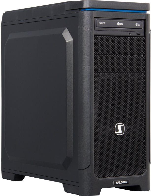Počítač HAL3000 Artemis W10 / Intel i3-4170/ 8GB/ GTX950/ 1TB SSHD/ DVD/ W10