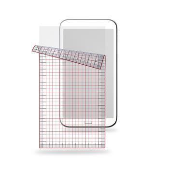 """Univerzální ochranná fólie displeje CellularLine pro 7"""" tablety, lesklá, 2ks"""