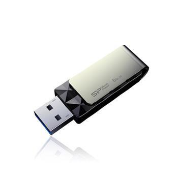 USB flash disk Silicon Power Blaze B30,  8GB, USB 3.0, černý