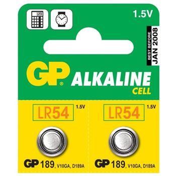 GP 189, knoflíková alkalická baterie, kompatibilní s AG10,LR54