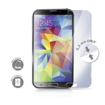 Ochranné tvrzené sklo CELLY Glass pro Samsung Galaxy S5 / S5 Neo s ANTI-BLUE-RAY vrstvou