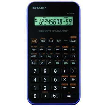 Vědecká kalkulačka SHARP EL-501XVL, černo-fialová