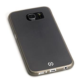 Ultra tenké TPU pouzdro CELLY Frost pro Samsung Galaxy S6, 0,29 mm, černé