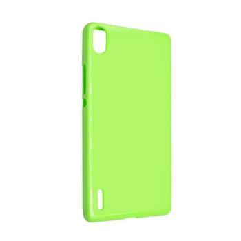 TPU gelové pouzdro FIXED pro Huawei Ascend P7, zelené