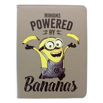 "Stylové pouzdro Despicable Me Minions (Mimoni) Folio pro 10"" tablety se stojánkem, motiv Banana"