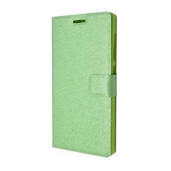 Pouzdro typu kniha FIXED s gelovou vaničkou pro Lenovo Vibe P1m, zelené