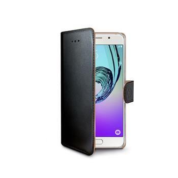 Pouzdro typu kniha CELLY Wally pro Samsung Galaxy A3 (2016), PU kůže, černé