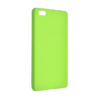 TPU gelové pouzdro FIXED pro Huawei P8 Lite, zelené