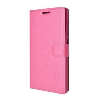 Pouzdro typu kniha FIXED s gelovou vaničkou pro Lenovo Vibe X2, růžové