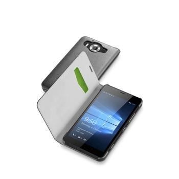 Pouzdro typu kniha CellularLine Book Essential pro Microsoft Lumia 950, černé