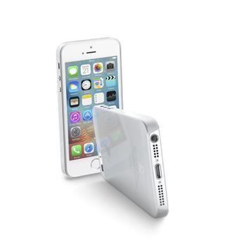 Ultratenký zadní kryt CellularLine ZERO pro Apple iPhone 5/5S/SE, čirý