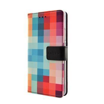 Pouzdro typu kniha FIXED Opus pro Samsung Galaxy J1 (2016), motiv Dice