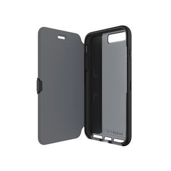 Pouzdro typu kniha Tech21 Evo Wallet pro Apple iPhone 7 Plus, kouřové