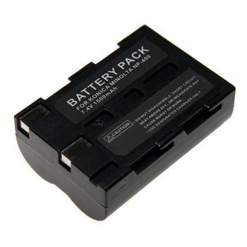 Baterie Extreme Energy typ Minolta NP-400, Li-Ion 1500 mAh, černá