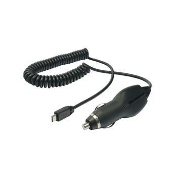 Autonabíječka (CL Plug-in) s microUSB, 1A, box