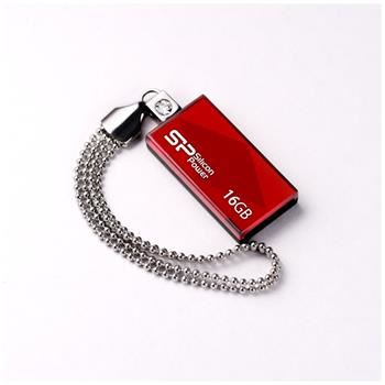 USB flash disk Silicon Power Drive Touch 810, 16GB, USB 2.0, červený