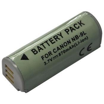 Baterie Extreme Energy typ Canon NB-9L, Li-Ion 870 mAh