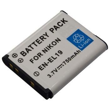 Baterie Extreme Energy typ Nikon EN-EL19, Li-Ion 670 mAh