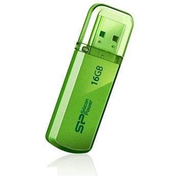 USB flash disk Silicon Power Helios 101, 16GB, USB 2.0, zelený