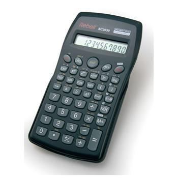Vědecká kalkulačka REBELL SC-2030, 136 funkcí, černá