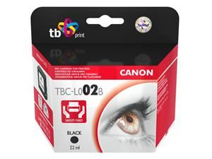 Ink. kazeta TB kompatibilní s Canon BC-02  Black