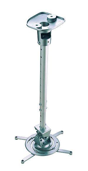 Držák projektoru MP0020 s teleskop. tyčí- silver