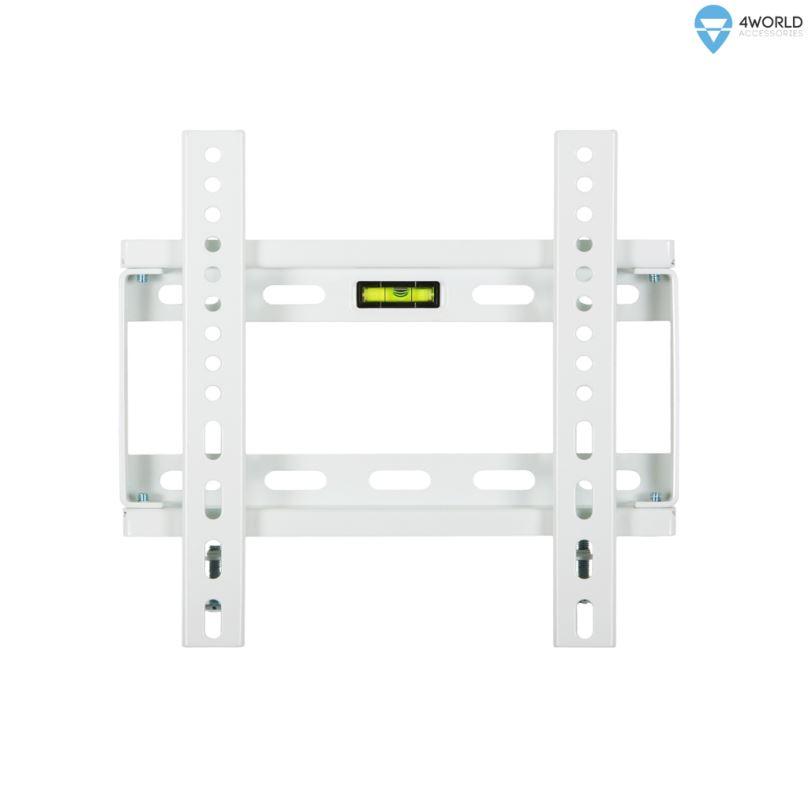 """4W Fixní držák pro LCD 14-29"""" SLIM nosn. 75kg WHT"""