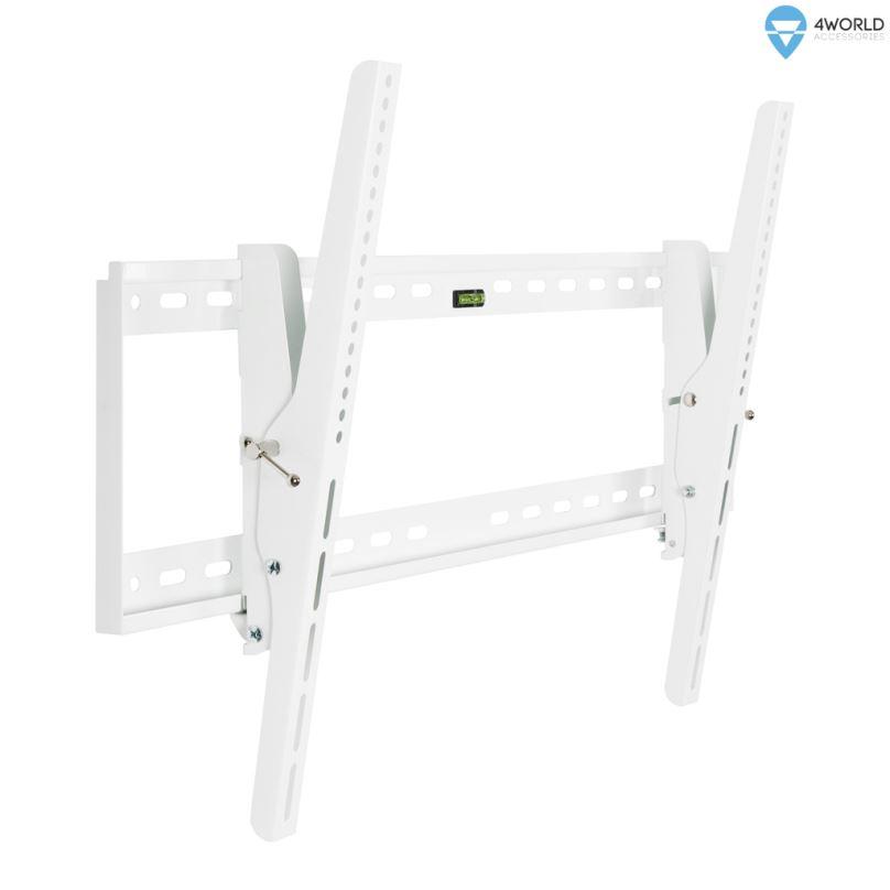 """4W Sklopný držák pro LCD 30-79"""" nákl. 15° 60kg WHT"""