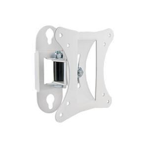 """4W Držák pro LCD 10-26"""" otočný sklopný 15kg WHT"""