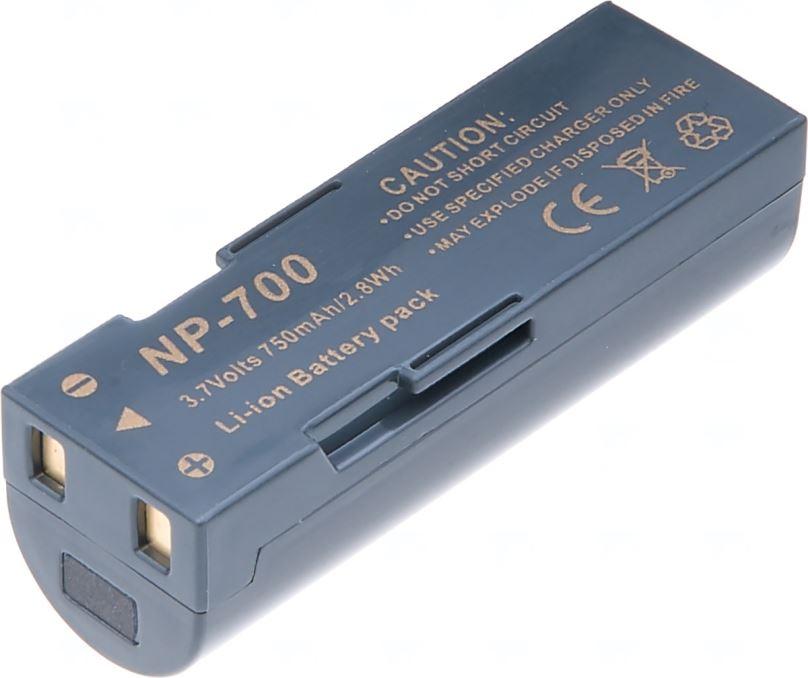Baterie T6 power KonicaMinolta NP-700, 750mAh, šedá