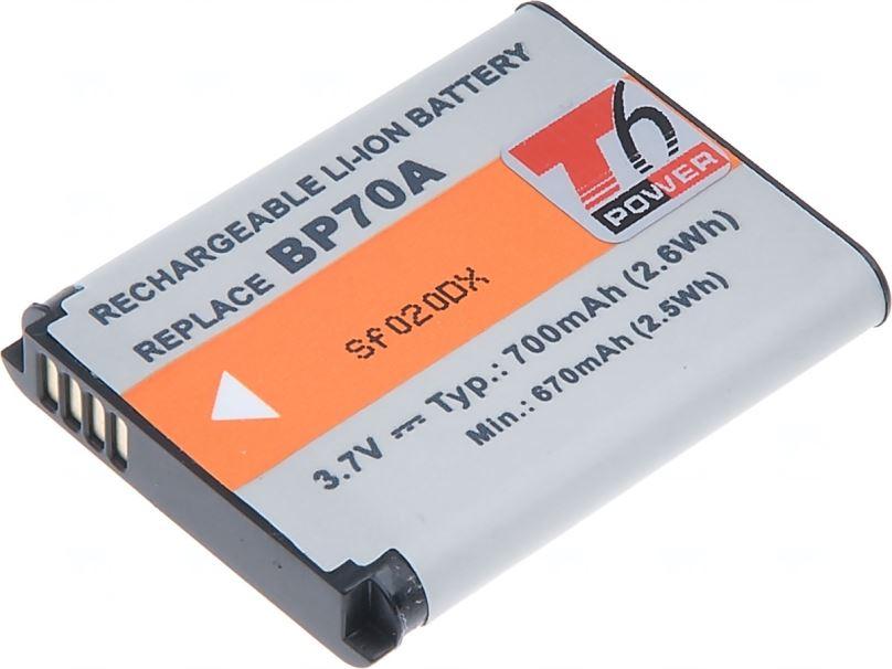 Baterie T6 power Samsung BP-70A, 700mAh, černá
