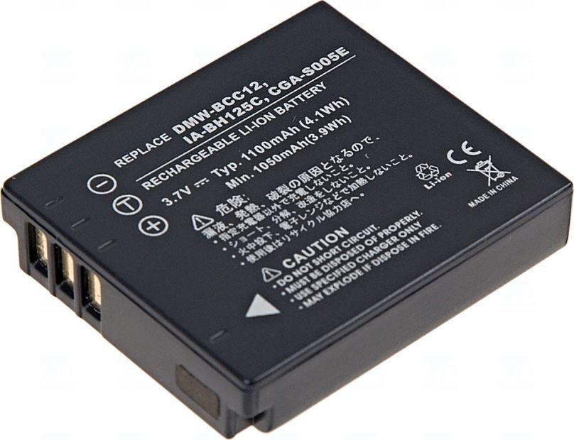 Baterie T6 power Samsung IA-BH125C, CGA-S005, D-Li106, DB-60, DB-65, DMW-BCC12, NP-70, 1100mAh