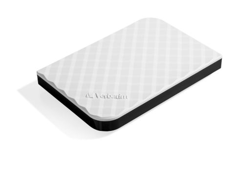 "VERBATIM HDD 2.5"", 1TB, USB 3.0, White"