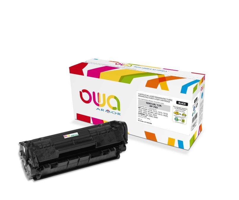 ARMOR toner černý K11997 (Q2612A) 2000 str. pro tiskárny HP Laserjet 1010, 1012, 1015, 1020, 1022