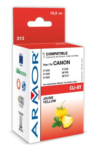 Armor ink-jet pro Canon iP4200, 16ml (CLI8Y), čip