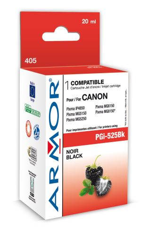 Armor ink-jet pro Canon PGi-525, 20ml, černá